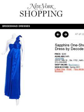 dress in Ny Mag